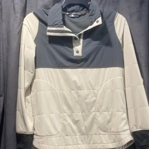 North Face thin down sweater